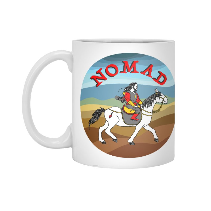 Modern nomad Accessories Standard Mug by ShadoBado Artist Shop