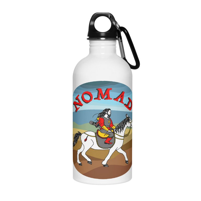 Modern nomad Accessories Water Bottle by ShadoBado Artist Shop