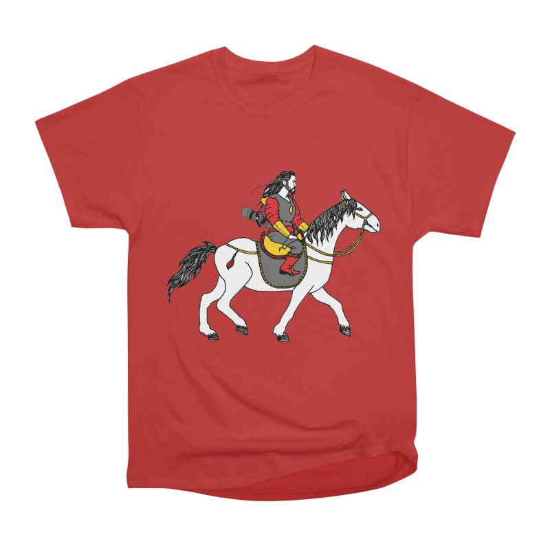 The rider Men's Heavyweight T-Shirt by ShadoBado Artist Shop