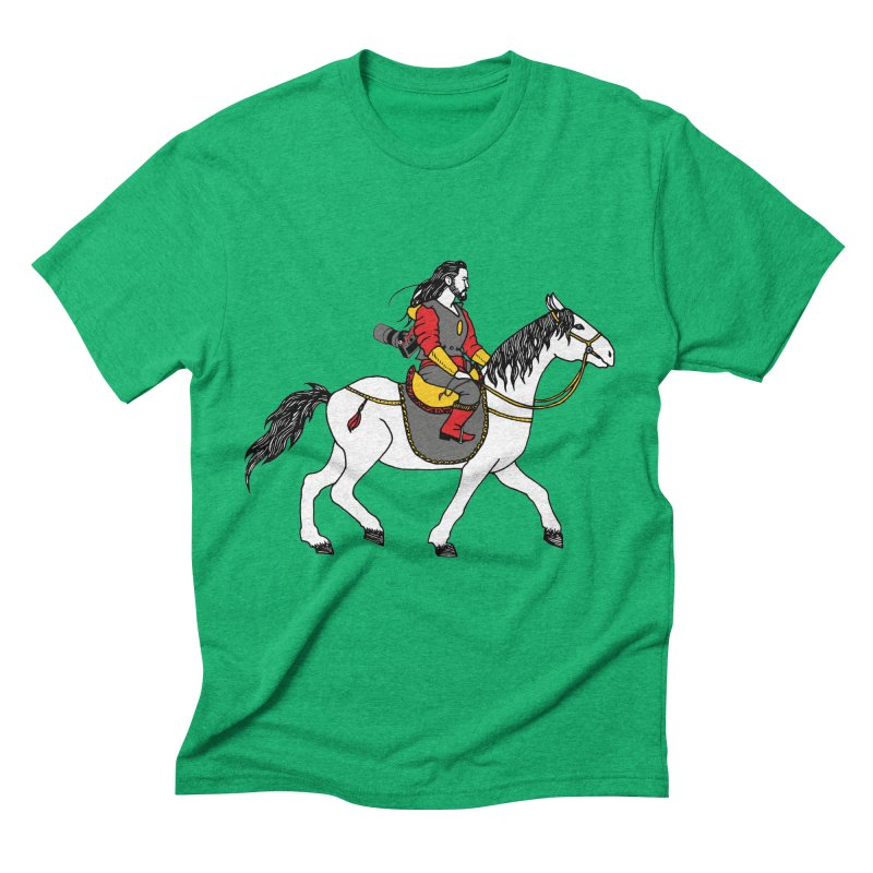 The rider Men's Triblend T-Shirt by ShadoBado Artist Shop