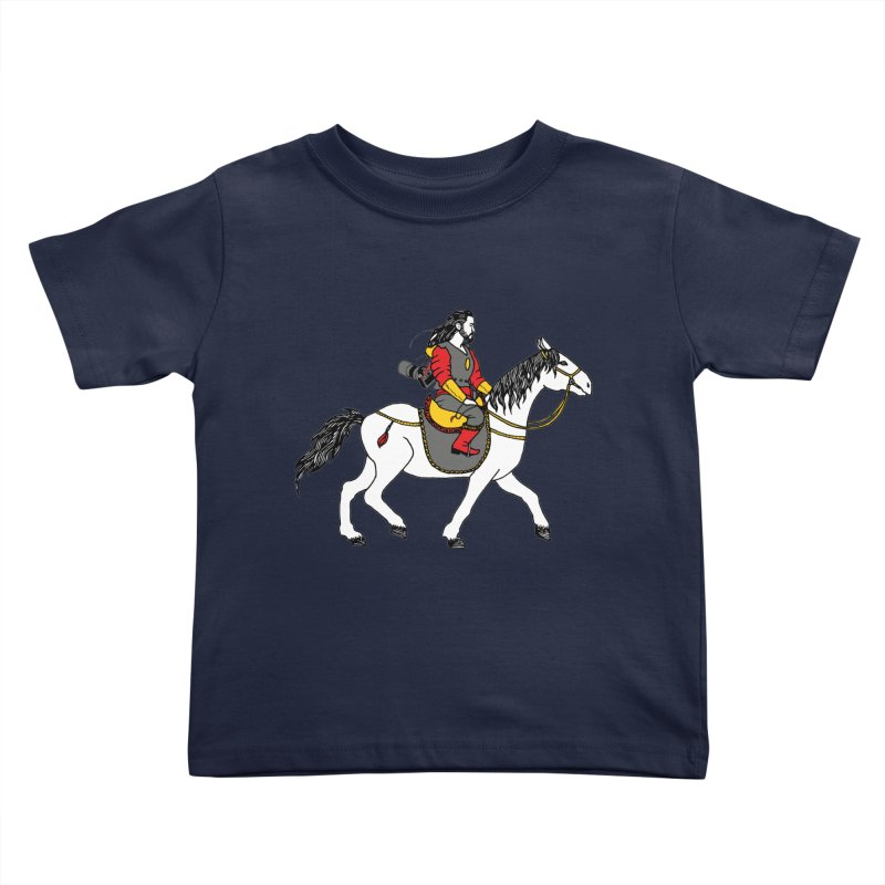 The rider Kids Toddler T-Shirt by ShadoBado Artist Shop