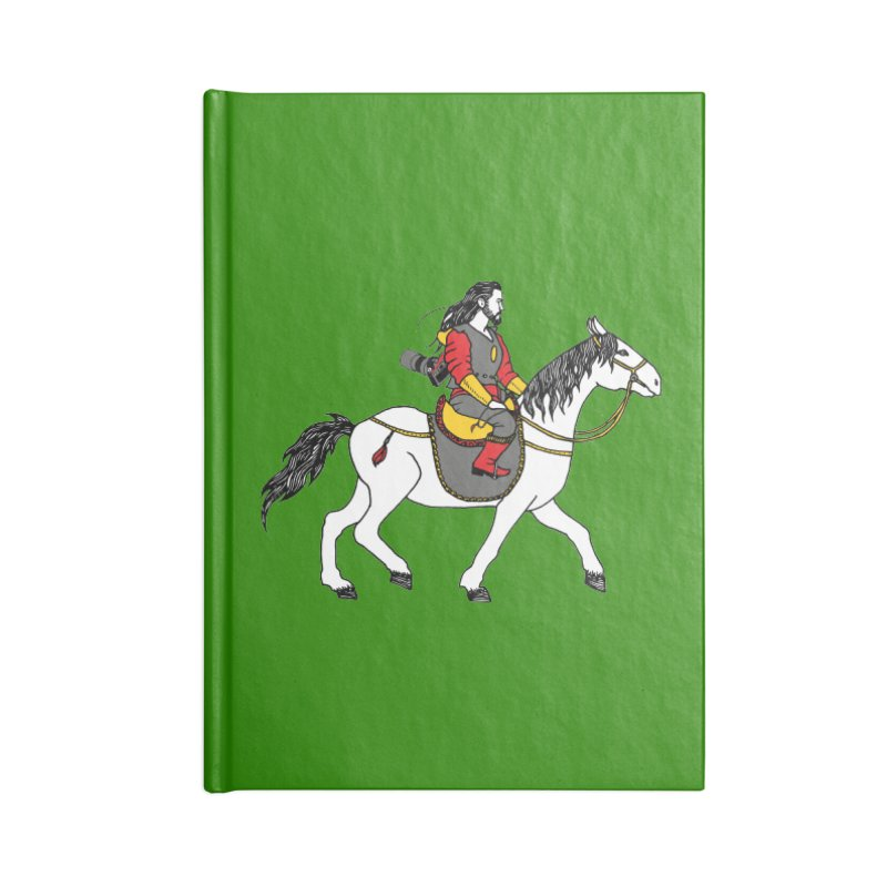 The rider Accessories Notebook by ShadoBado Artist Shop