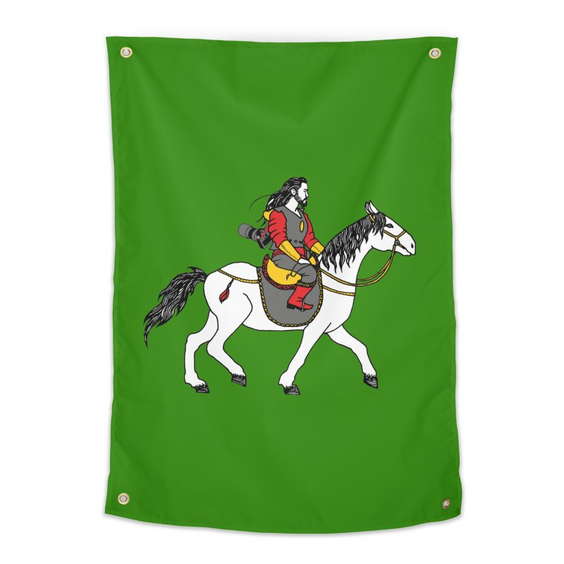The rider Home Tapestry by ShadoBado Artist Shop