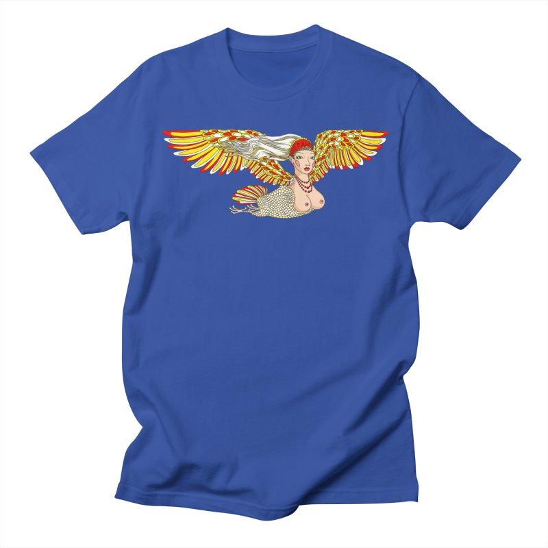 Alkonost Women's Regular Unisex T-Shirt by ShadoBado Artist Shop