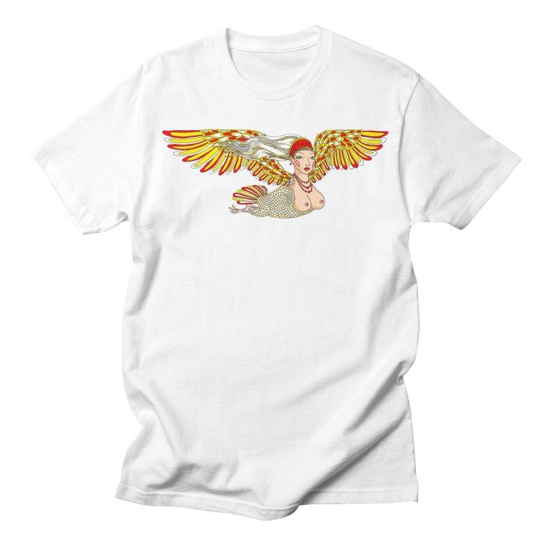 Alkonost Men's Regular T-Shirt by ShadoBado Artist Shop