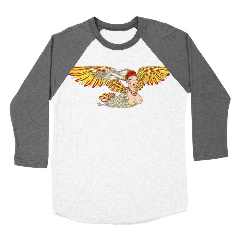Alkonost Women's Baseball Triblend Longsleeve T-Shirt by ShadoBado Artist Shop