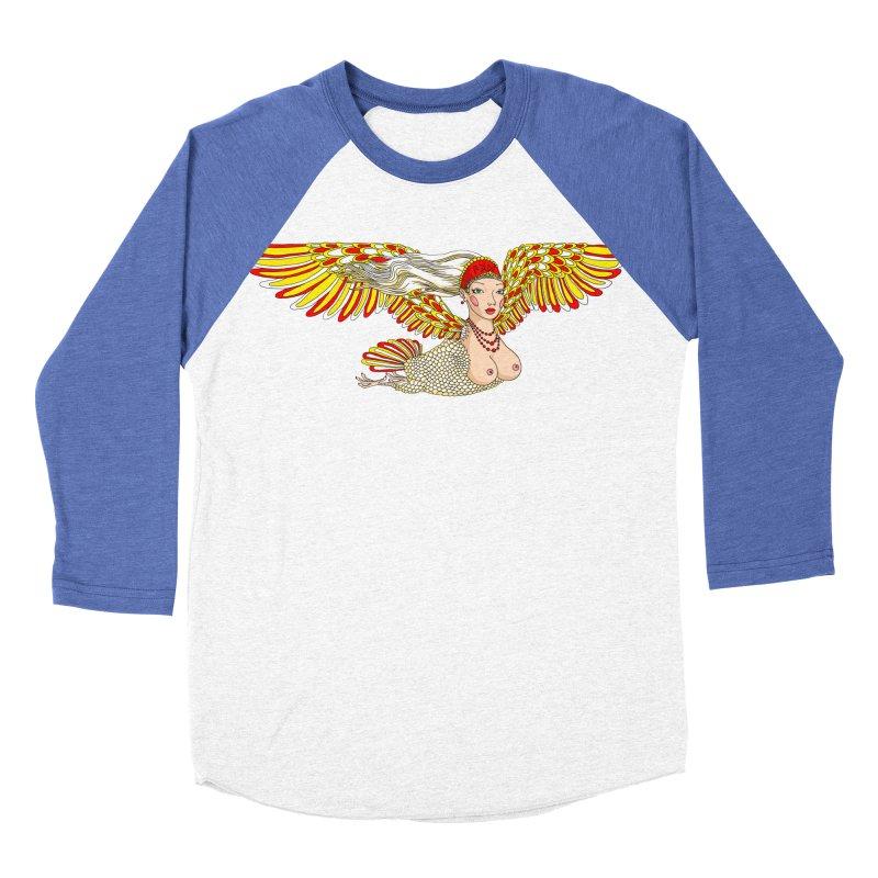 Alkonost Men's Baseball Triblend Longsleeve T-Shirt by ShadoBado Artist Shop