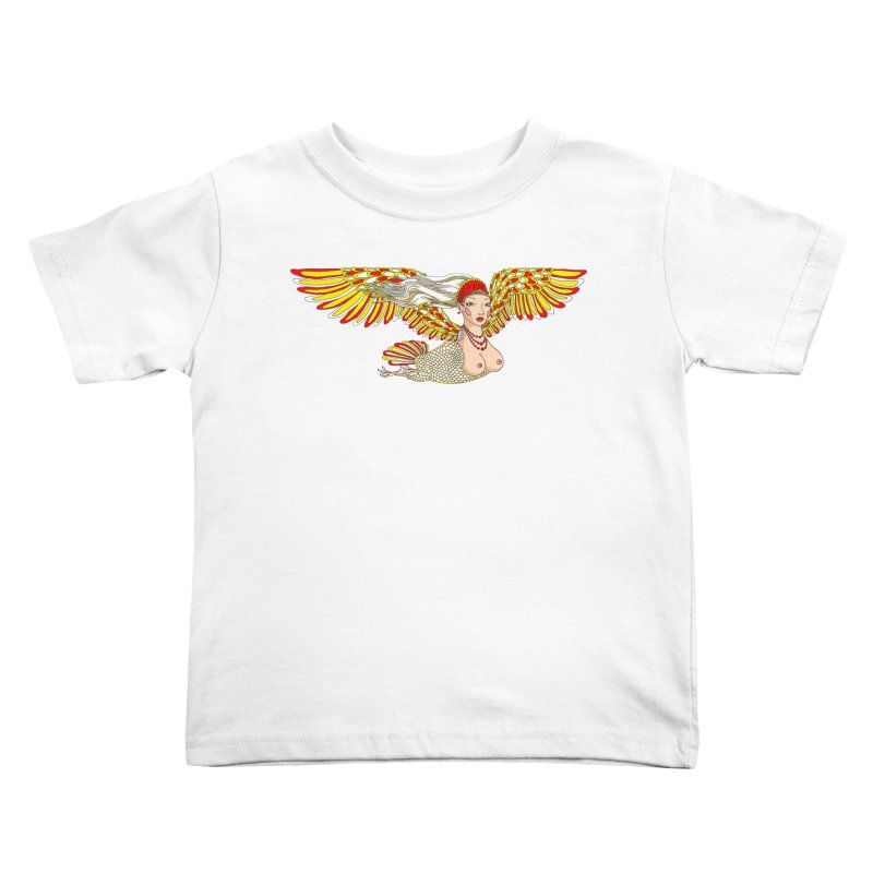 Alkonost Kids Toddler T-Shirt by ShadoBado Artist Shop