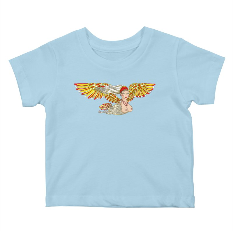 Alkonost Kids Baby T-Shirt by ShadoBado Artist Shop