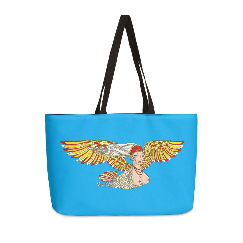 Alkonost Accessories Weekender Bag Bag by ShadoBado Artist Shop
