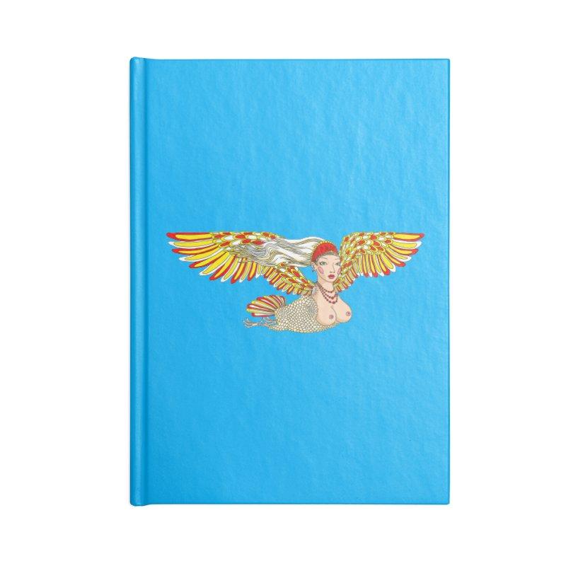 Alkonost Accessories Notebook by ShadoBado Artist Shop