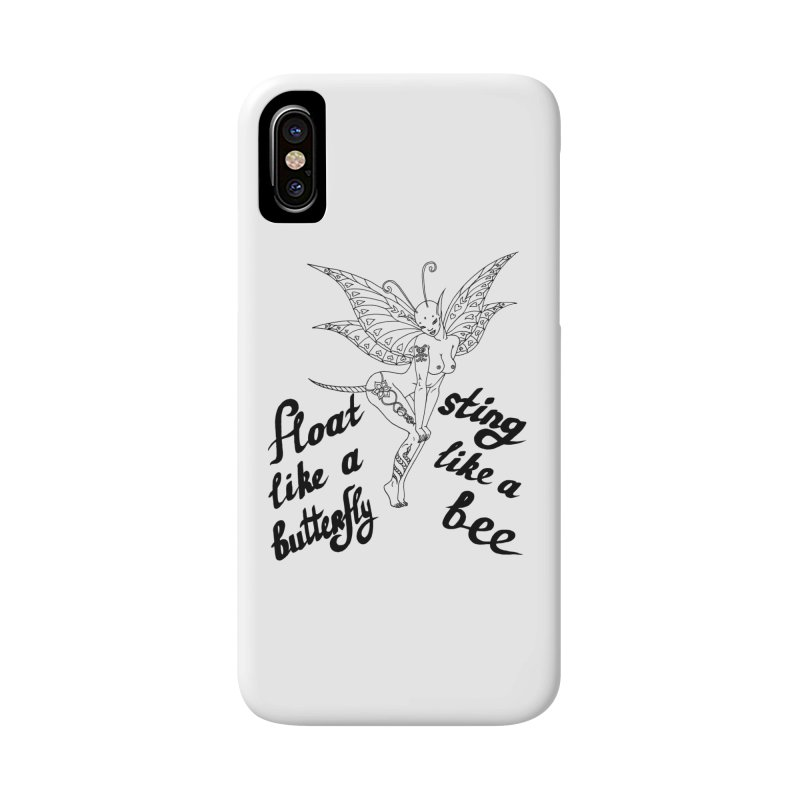 Float like a butterfly, sting like a bee Accessories Phone Case by ShadoBado Artist Shop