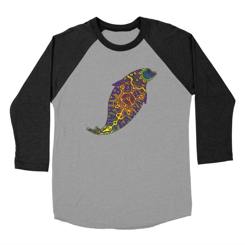Nerpa Men's Baseball Triblend Longsleeve T-Shirt by ShadoBado Artist Shop