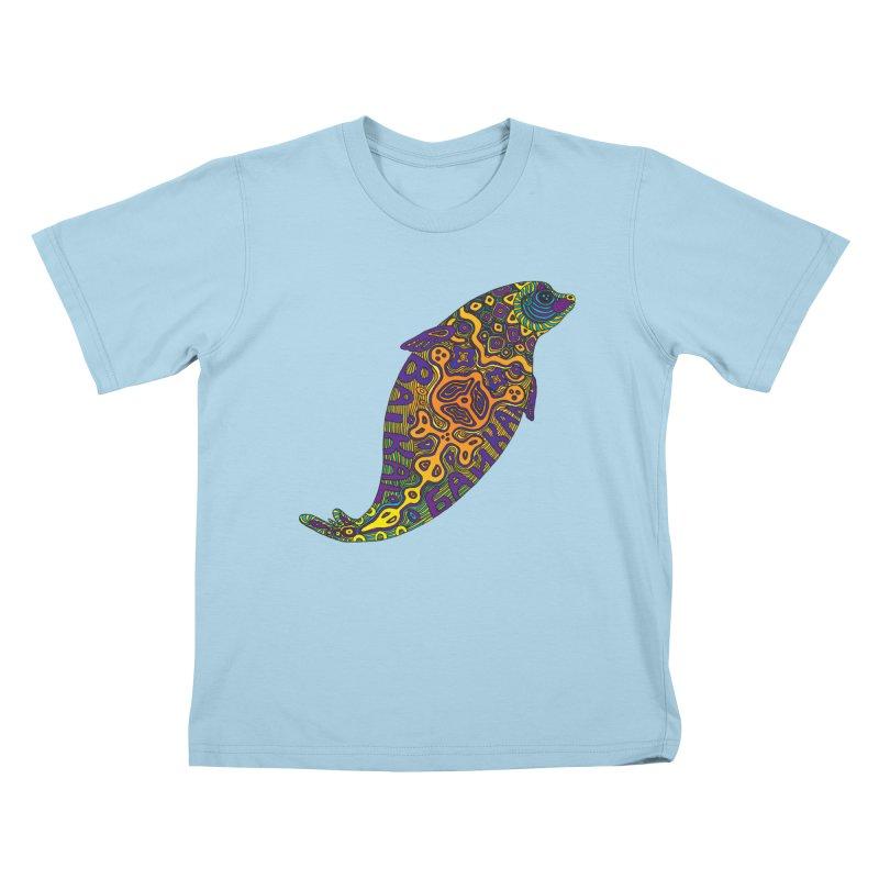 Nerpa Kids T-Shirt by ShadoBado Artist Shop