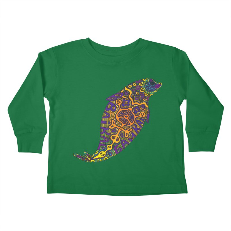 Nerpa Kids Toddler Longsleeve T-Shirt by ShadoBado Artist Shop