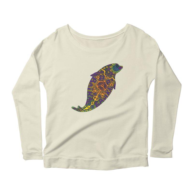 Nerpa Women's Scoop Neck Longsleeve T-Shirt by ShadoBado Artist Shop