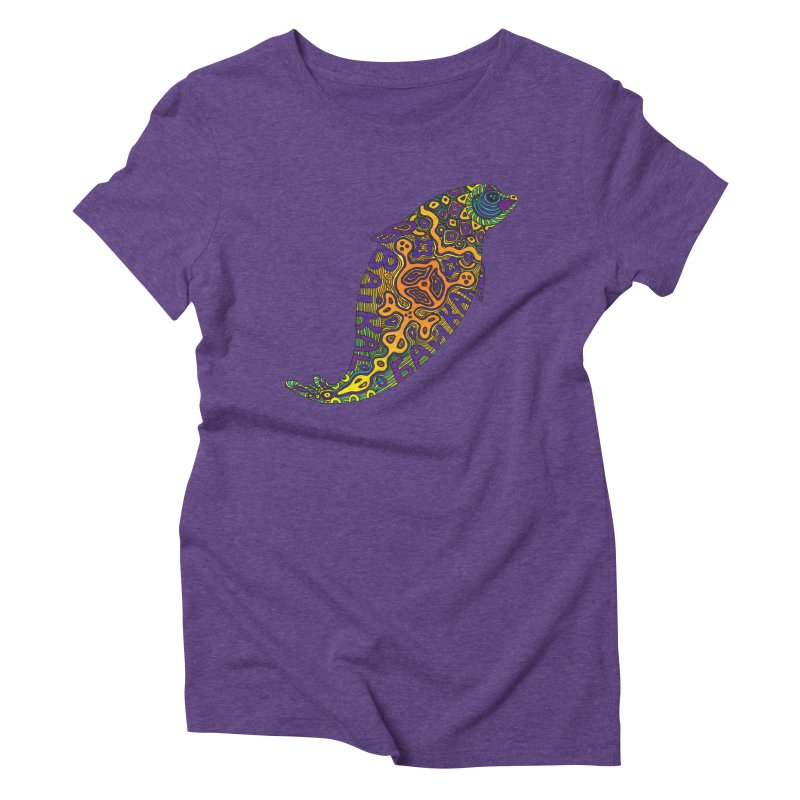 Nerpa Women's Triblend T-Shirt by ShadoBado Artist Shop