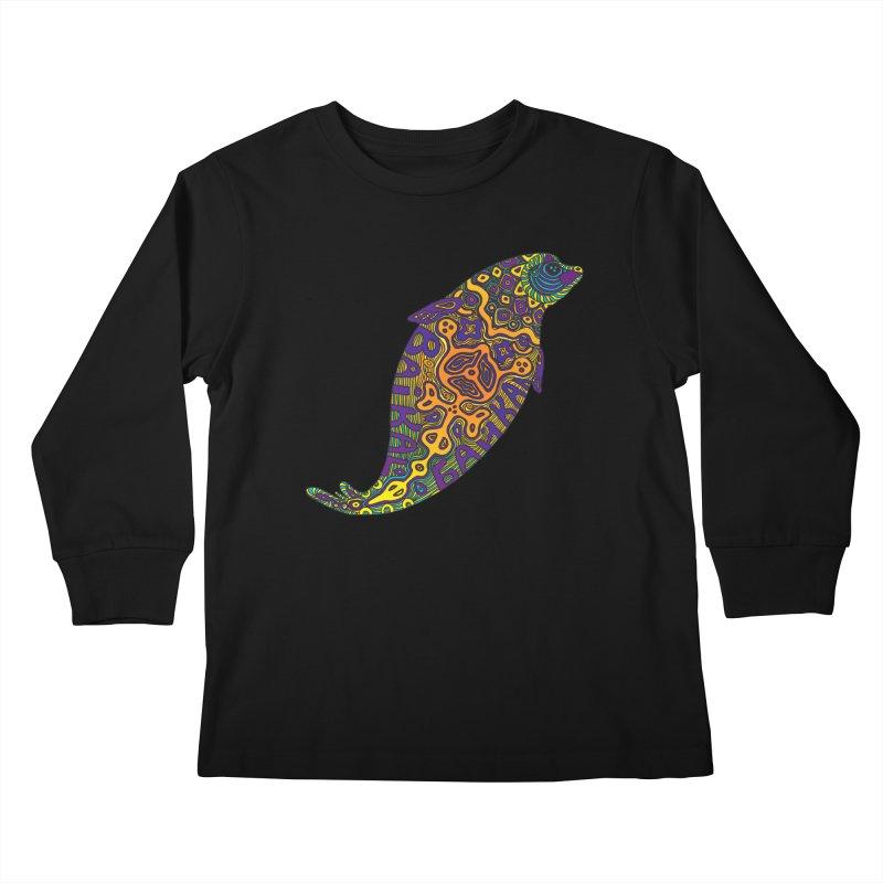 Nerpa Kids Longsleeve T-Shirt by ShadoBado Artist Shop