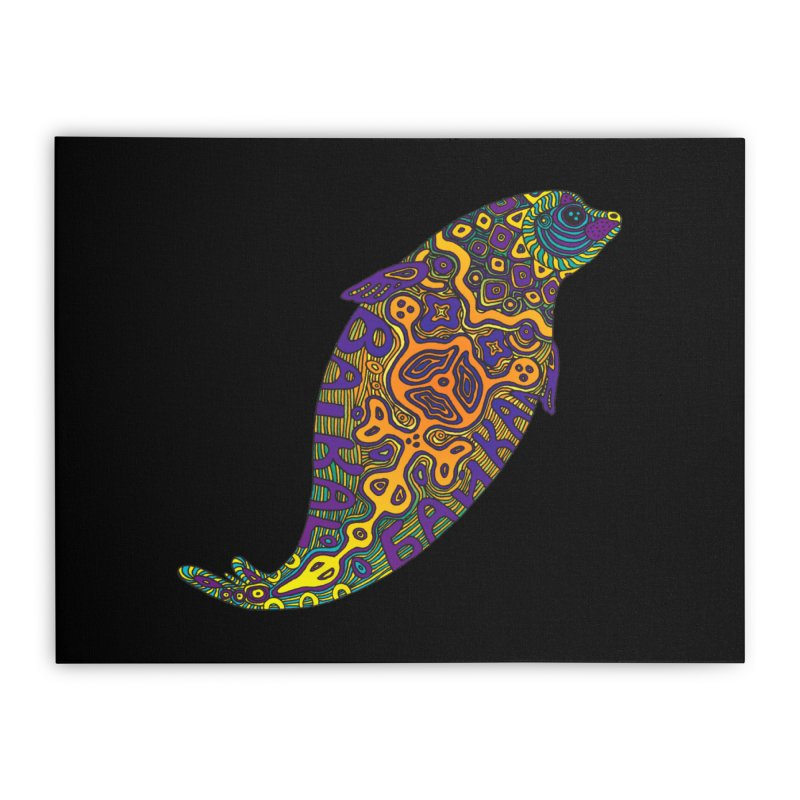 Nerpa Home Stretched Canvas by ShadoBado Artist Shop