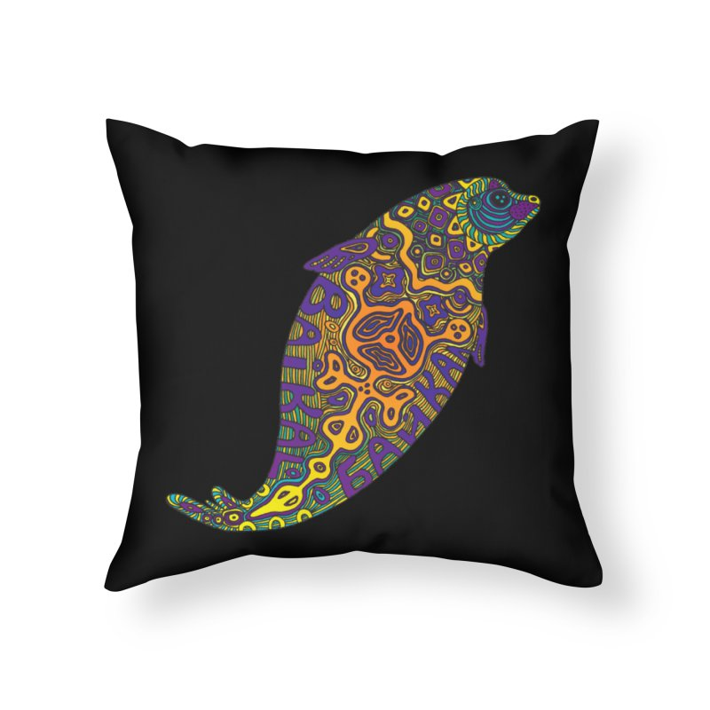 Nerpa Home Throw Pillow by ShadoBado Artist Shop