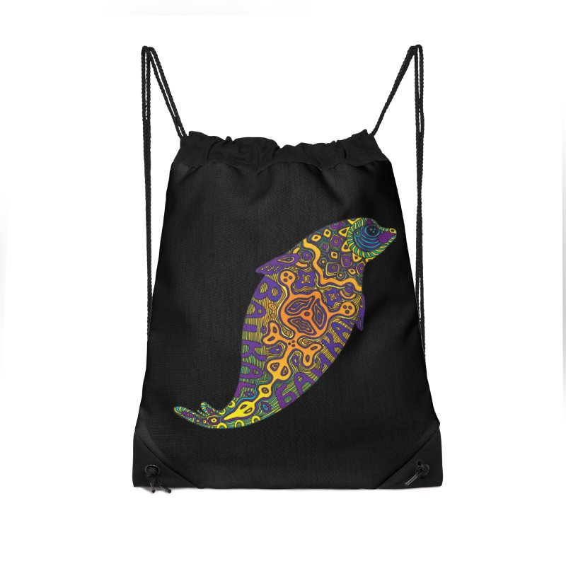 Nerpa Accessories Drawstring Bag Bag by ShadoBado Artist Shop