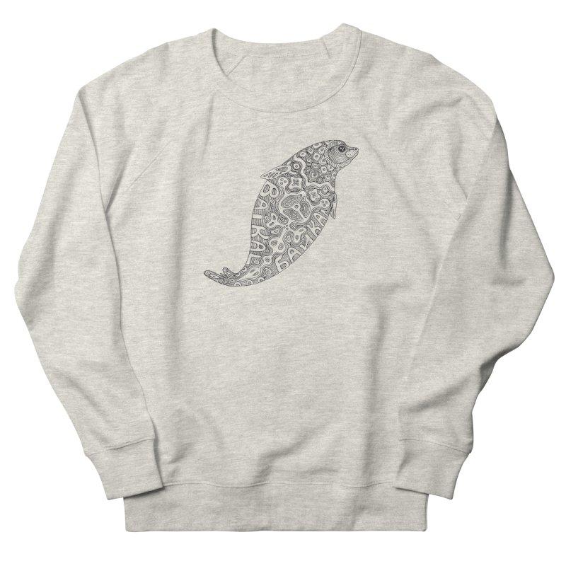 Coloring nerpa Women's Sweatshirt by ShadoBado Artist Shop