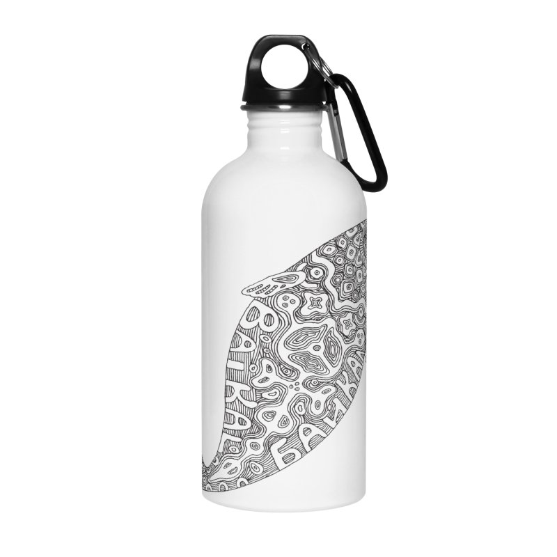 Coloring nerpa Accessories Water Bottle by ShadoBado Artist Shop