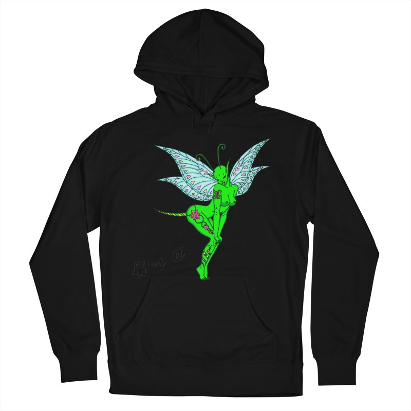 Float like a butterfly, sting like a bee Men's French Terry Pullover Hoody by ShadoBado Artist Shop