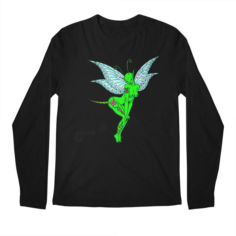 Float like a butterfly, sting like a bee Men's Regular Longsleeve T-Shirt by ShadoBado Artist Shop