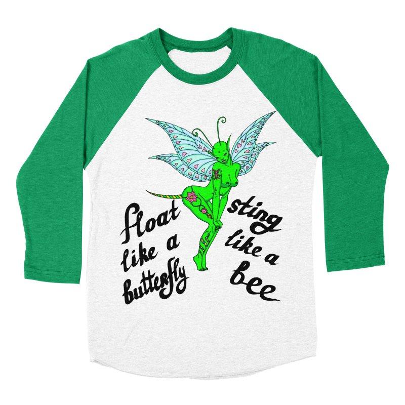 Float like a butterfly, sting like a bee Women's Baseball Triblend Longsleeve T-Shirt by ShadoBado Artist Shop