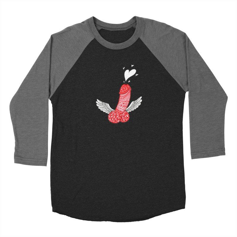 Love is in the air Men's Baseball Triblend Longsleeve T-Shirt by ShadoBado Artist Shop