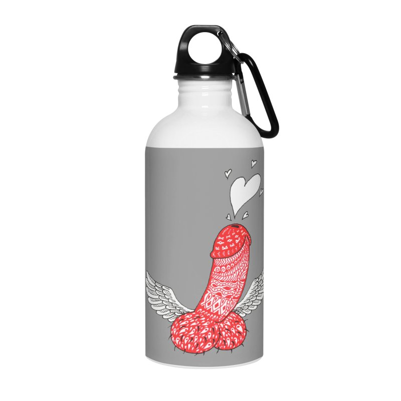 Love is in the air Accessories Water Bottle by ShadoBado Artist Shop