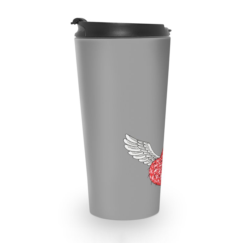 Love is in the air Accessories Travel Mug by ShadoBado Artist Shop