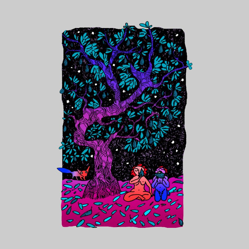 Avocado tree in crazy colours by ShadoBado Artist Shop