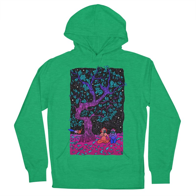 Avocado tree in crazy colours Women's French Terry Pullover Hoody by ShadoBado Artist Shop