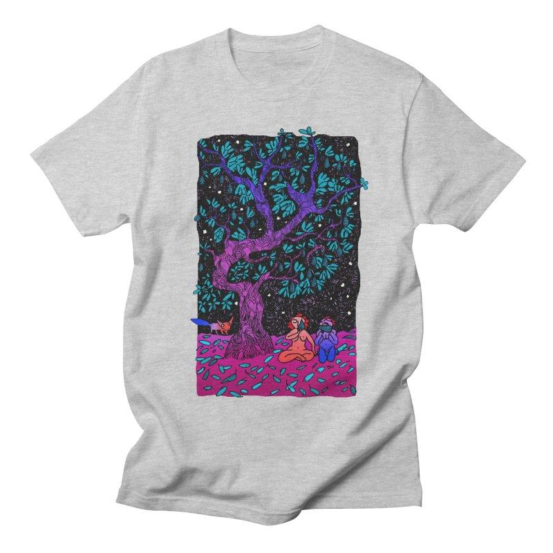Avocado tree in crazy colours Women's Regular Unisex T-Shirt by ShadoBado Artist Shop