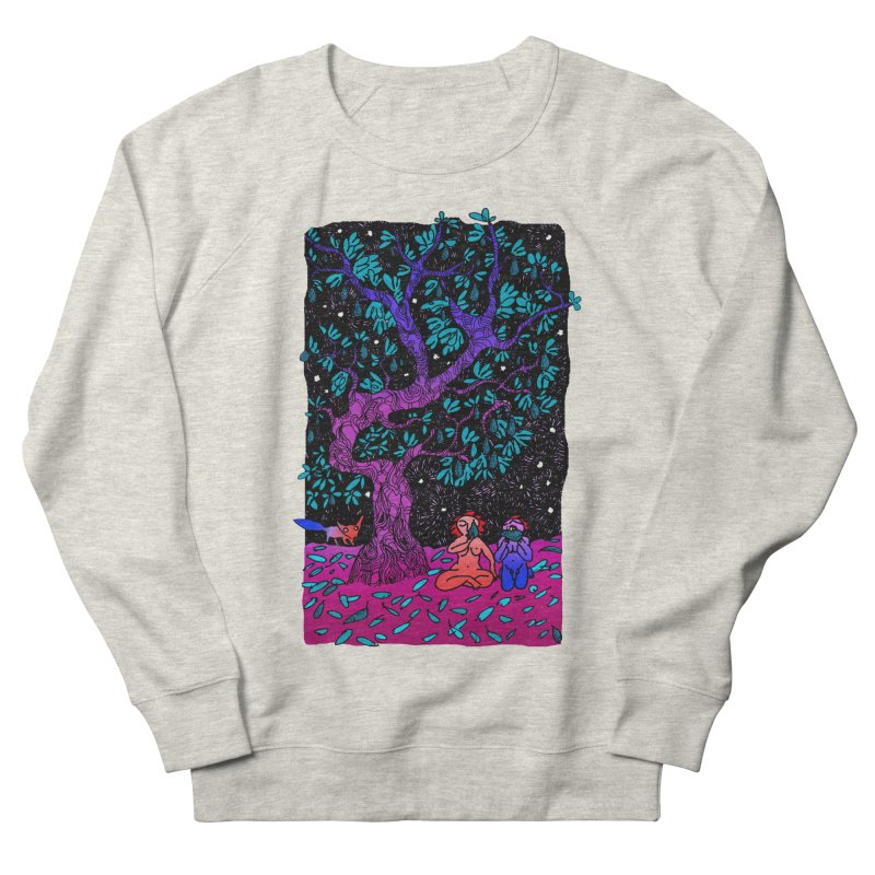 Avocado tree in crazy colours Women's French Terry Sweatshirt by ShadoBado Artist Shop