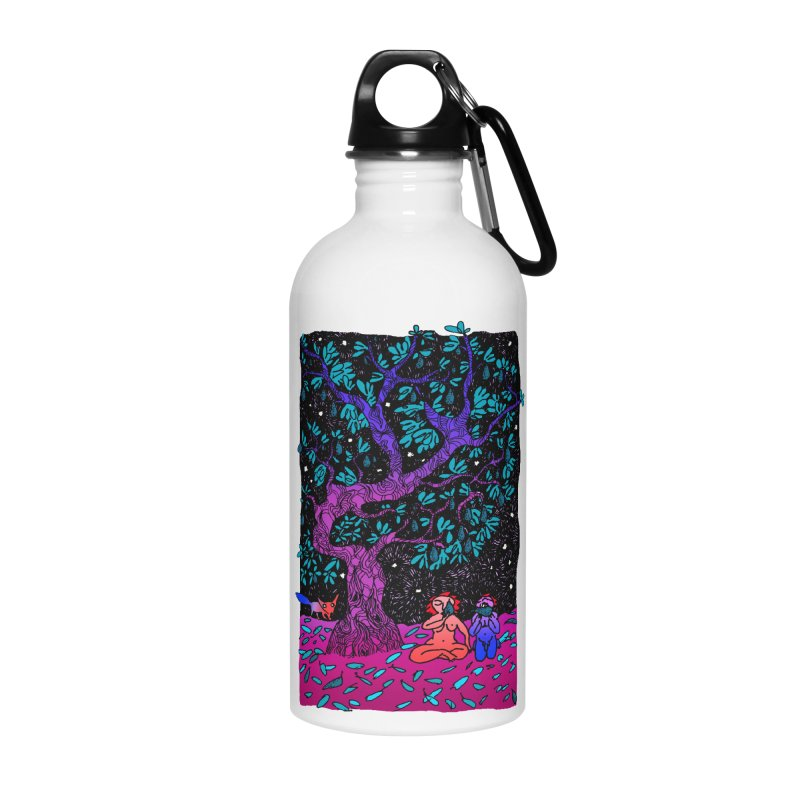 Avocado tree in crazy colours Accessories Water Bottle by ShadoBado Artist Shop