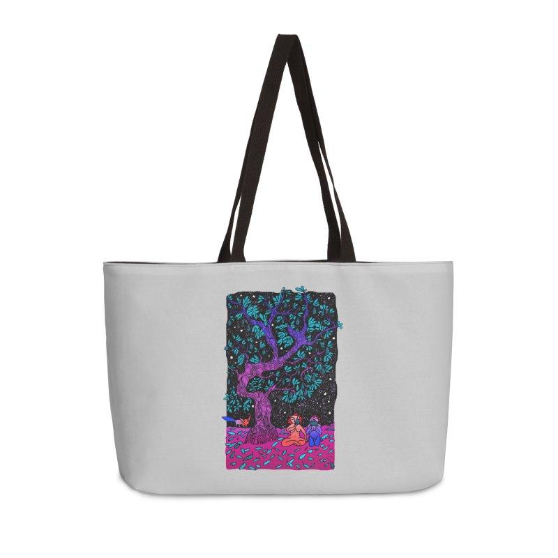 Avocado tree in crazy colours Accessories Weekender Bag Bag by ShadoBado Artist Shop