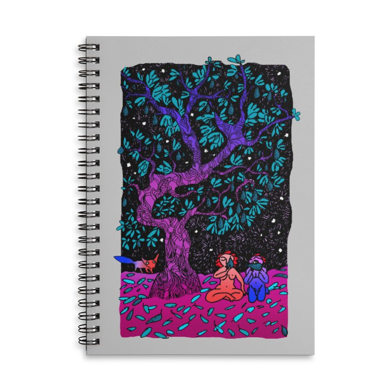 Avocado tree in crazy colours Accessories Lined Spiral Notebook by ShadoBado Artist Shop