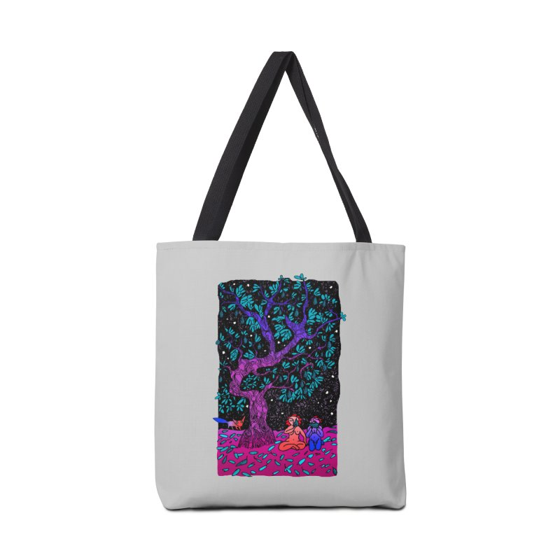 Avocado tree in crazy colours Accessories Tote Bag Bag by ShadoBado Artist Shop