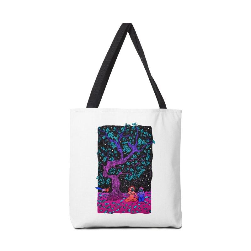 Avocado tree in crazy colours Accessories Bag by ShadoBado Artist Shop