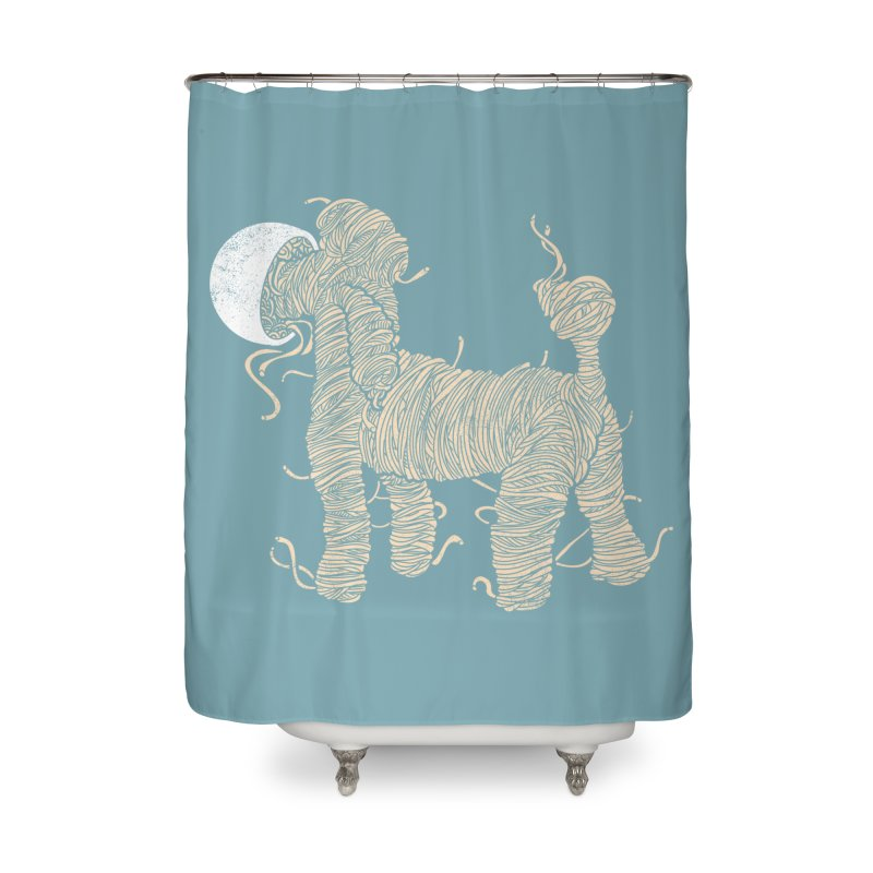 Noodle Poodle Home Shower Curtain By Shadowbloxs Artist Shop