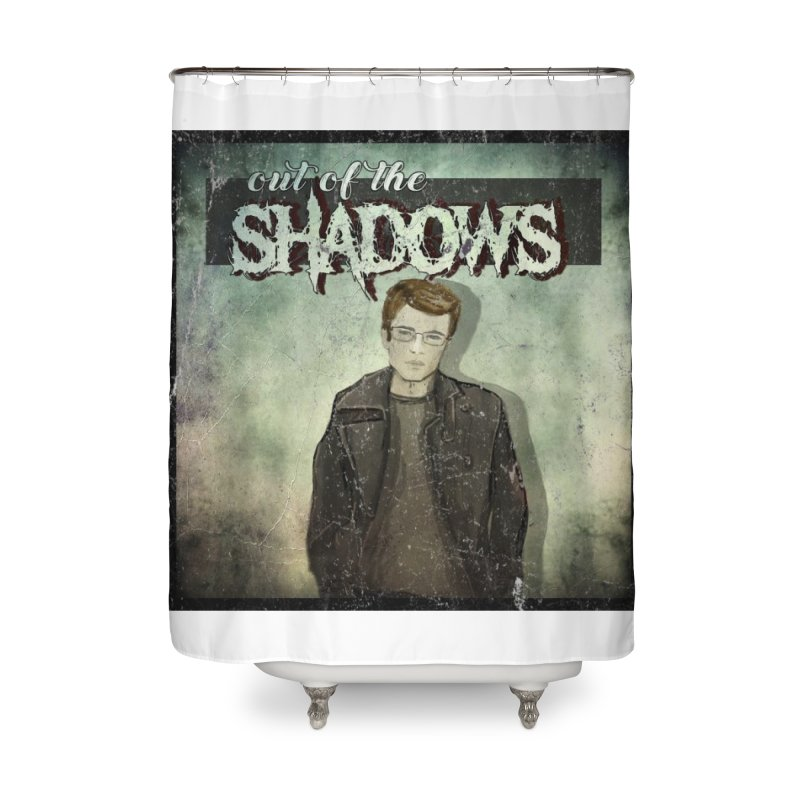 Cover Art Home Shower Curtain by Out of the Shadows's Store