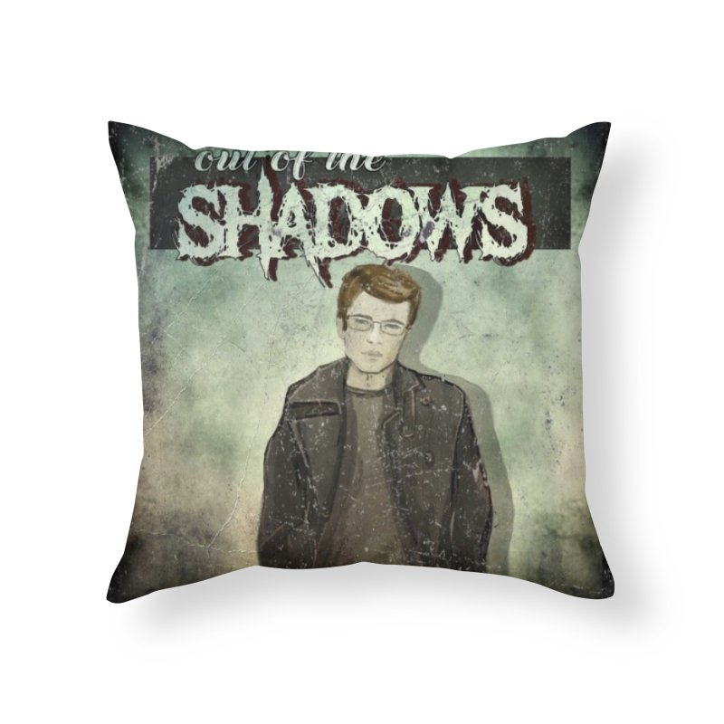 Cover Art Home Throw Pillow by Out of the Shadows's Store