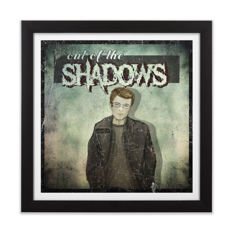 Cover Art Home Framed Fine Art Print by Out of the Shadows's Store