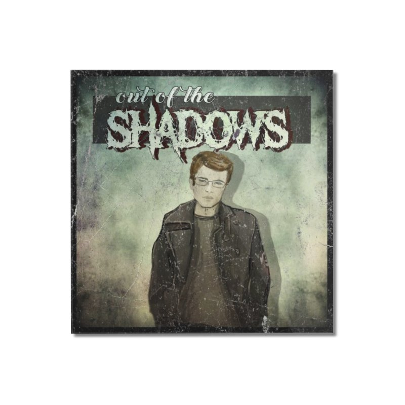Cover Art Home Mounted Acrylic Print by Out of the Shadows's Store
