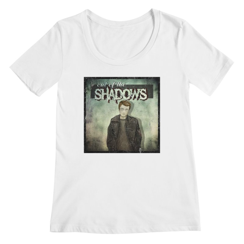 Cover Art Women's Regular Scoop Neck by Out of the Shadows's Store