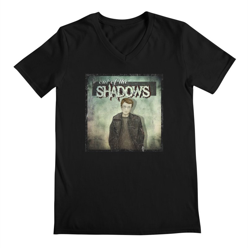 Cover Art Men's Regular V-Neck by Out of the Shadows's Store