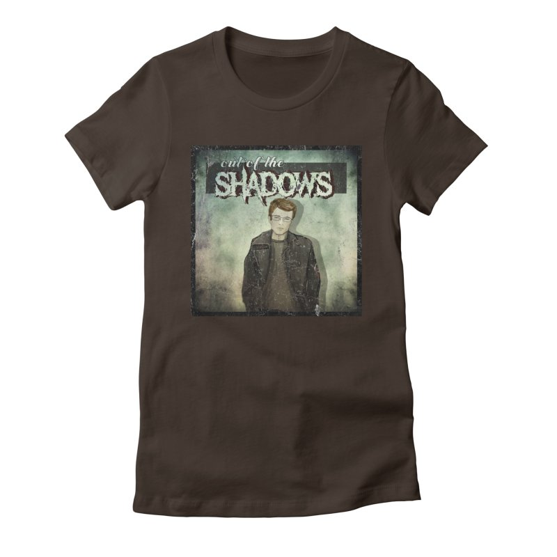 Cover Art Women's Fitted T-Shirt by Out of the Shadows's Store